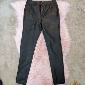 Ashley Mason vegan leather pants
